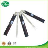 Palillos de los gemelos con la funda de papel abierta modificada para requisitos particulares