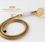 Conjunto novo de chuveiro de bronze Jade com design único Zf-701