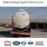 Vrachtwagen 18.3cbm van de Tanker van de Zuiging van de riolering Dongfeng