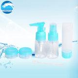 De Kosmetische die Fles van de Reis van de Plastic Containers van de Belevingswaarde van het hotel met Zak wordt geplaatst