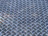 Keine Edelstahl-Drahtseil-Ineinander greifen-Filetarbeit der Beanstandung-7X19