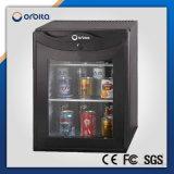 Refrigerador de vidro da porta dos Minibars do hotel de Orbita mini com fechamento