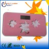ピンクの浴室の電子デジタル体重のスケール180kg