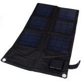 太陽電池パネルの充電器を折る18W 12V-18V 5V