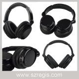 까만 입체 음향 이동 전화 무선 Bluetooth V4.0 헤드폰 헤드폰