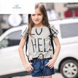 2017 Shorts diritti del denim delle ragazze popolari di modo dai jeans della mosca