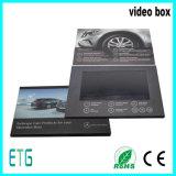 Costume cartão video do LCD de 4.3/5/7/10.1 polegadas para anunciar para a melhor venda