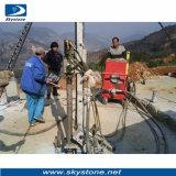 Buena calidad de abajo de la máquina de taladro de agujero de granito y mármol