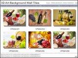 красивейшей плитки предпосылки изображения искусствоа 3D застекленные стеной (VPA6A310)