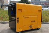 5kw 6kw 7kw arranque eléctrico Portable tipo dosel silencioso Generador Diesel insonorizado