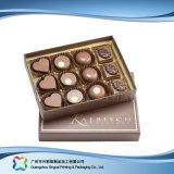 De Verpakkende Doos van het Leer van de Gift van de valentijnskaart voor de Chocolade van het Suikergoed van Juwelen (xC-fbc-014)