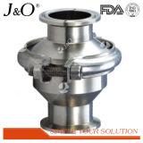 Válvula de verificação sanitária da extremidade da braçadeira do aço inoxidável nenhuma válvula do retorno