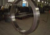 Forjamento de aço personalizado do rolamento do anel do tratamento de superfície