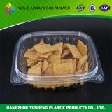 Transparenter Plastikplätzchen-Kasten, verpackennahrungsmittelbehälter