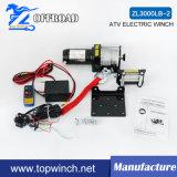 Off-Road Cabrestante eléctrico para la Recuperación (ATV 12V 3000lb)
