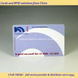 Assinatura completa/Writting área no cartão de plástico para placa de serviço
