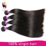 ベストセラーの柔らかく、光沢のあるブラジルの人間の毛髪は織り方で縫う