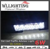 7 polegadas Mini Traffic Advisor Warning Strobe Light Bar
