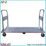 Camión de plataforma plegable de aluminio