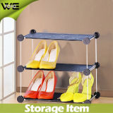Gabinete de Sapato de Plástico Folding Fashion Waterproof Shoe Rack