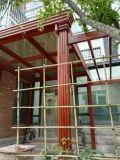 Legering de van uitstekende kwaliteit van het Aluminium Frame Verglaasde Sunroom, Geprefabriceerde Sunhouse
