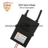 Entrada da ignição 220V do queimador de gás do forno de gás/dispositivo de ignição do fogão