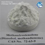 Poudre/tablettes stéroïdes orales Dianabol pour le gain de muscle