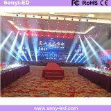 Étape P3.91 de location annonçant l'écran d'Afficheur LED pour la performance visuelle