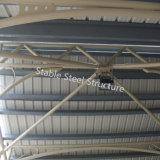 Moderno edificio de estructura metálica de acero para el mercado