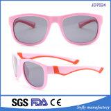 2017 Châssis colorés de lunettes de soleil polarisées en caoutchouc pour les enfants