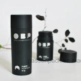 schwarze Plastikmattflasche 100ml für Haar-Faser-Puder (PPC-PB-1701)