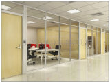 Populäre Büro-Partition mit einzelner Glas-und Vorstand-Option (SZ-WS686)