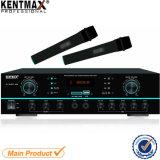 Bluetooth FM USB-Ableiter-Verstärker mit 2 Sets der drahtlosen Mikrophone