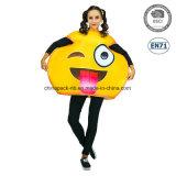 Emoji Funny Face Carnival Cartoon Party Costume pour les femmes (PGC70014X)