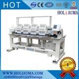 Bruder-Typ Hauptstickerei-Maschine der Holiauma Geschwindigkeit-vier mit 12 Luanguages Stützhut 3D bereift konstante Stickerei