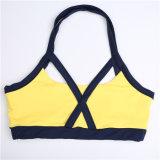 Женщин тренировки спортивной одежды костюм горячей продаж Уважаемые желтый цвет соответствует моды Sexy костюм для занятий йогой