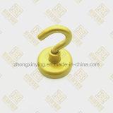 ساطع صفراء أو صنع وفقا لطلب الزّبون لون إناء مغنطيس [فوت] يمسك