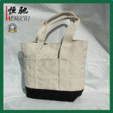 Ladies Canvas Beach Summer Holiday Tote Shopping Sac à main réutilisable