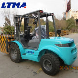 China Forklift 3 Ton Rough Terrain Forklift Especificação