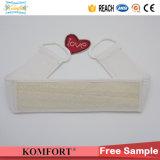 Loofah Natural guante de baño Scrubber ventas al por mayor cepillo de la piel seca (KLB-137)