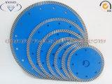 prensa caliente hoja de sierra de diamante para el granito