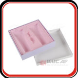 La aduana de la fábrica hace bandeja plástica el empaquetado cosmético del rectángulo