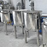 El tanque de mezcla de una sola capa del acero inoxidable de la alta calidad