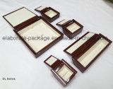 Legno duro speciale di rivestimento di lucentezza di figura con la cassa di legno di Woodpaper Jewellry