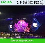 Farbenreiche Innenadvertizing/led Media-Bildschirmanzeige der Qualitäts-P4
