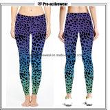 Pantaloni asciutti rapidi di yoga delle donne di Legging dell'abito su ordinazione all'ingrosso di forma fisica