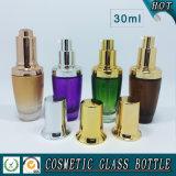 Bouteille en verre de empaquetage cosmétique du sérum 30ml