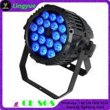 Wasserdichtes DMX IP65 18*15W im Freien LED NENNWERT Licht