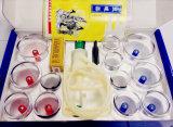 Tazas médicas plásticas de primera de la succión HK-E12 por masaje de ahuecamiento