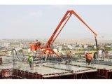 Boom de colocação de concreto usado para transporte de concreto